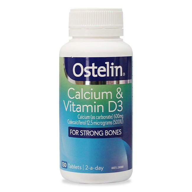canxi ostelin và vitamin D là canxi tốt cho bà bầu