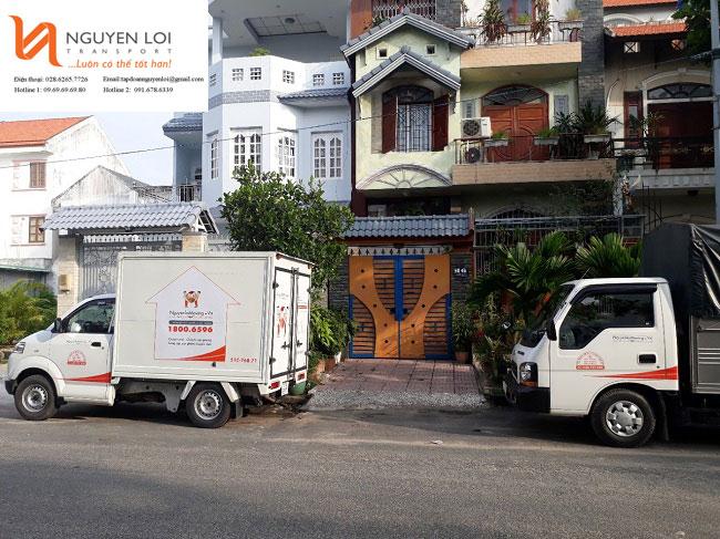Dịch vụ chuyển văn phòng taxi tải Nguyên Lợi