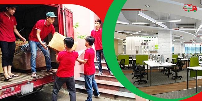 Dịch vụ chuyển văn phòng Việt Moving
