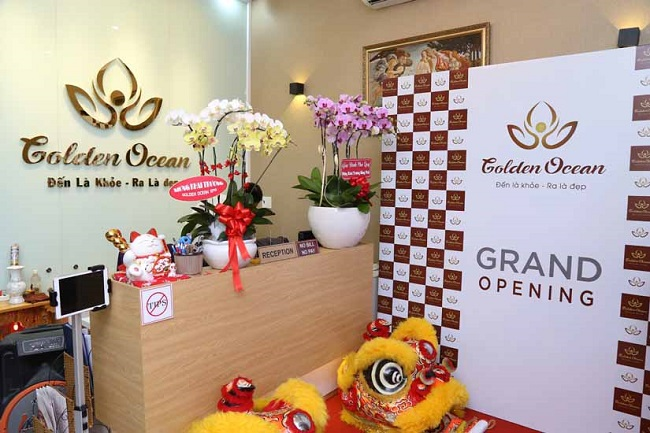 Golden Ocean Spa quận Phú Nhuận