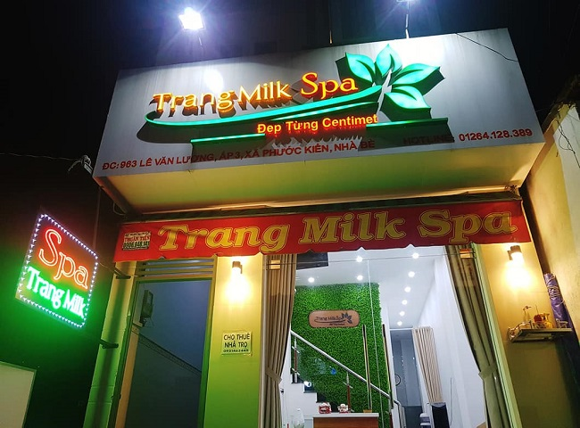 Trang Milk Spa