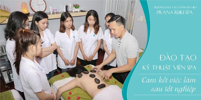 Trung tâm dạy học massage PRANA REIKI SPA