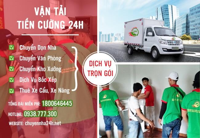 taxi tải chuyển nhà 24H