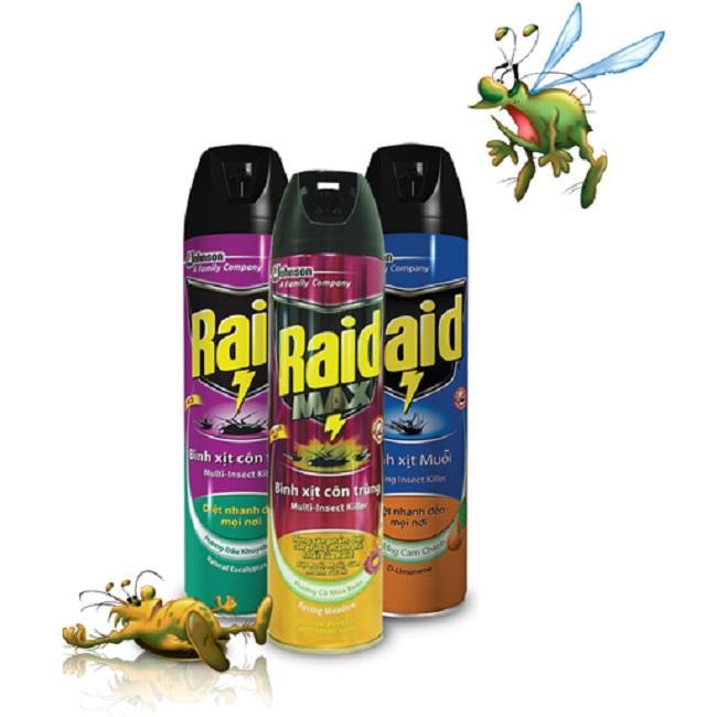 Thuốc xịt muỗi Raid