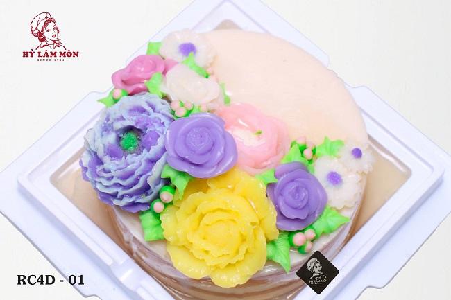 Bánh sinh nhật rau câu Hỷ Lâm Môn