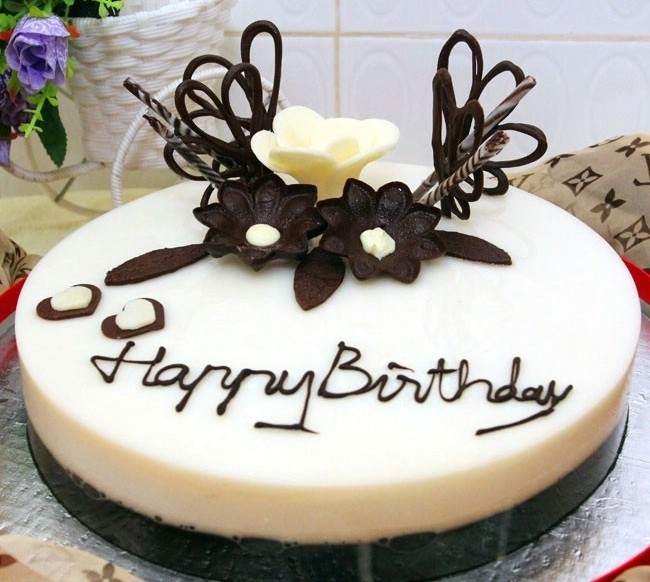 Bánh sinh nhật rau câu Hồng Hạnh