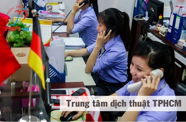 Công ty dịch thuật Phú Ngọc Việt