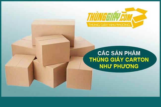 Công ty sản xuất thùng Carton Cát Phương