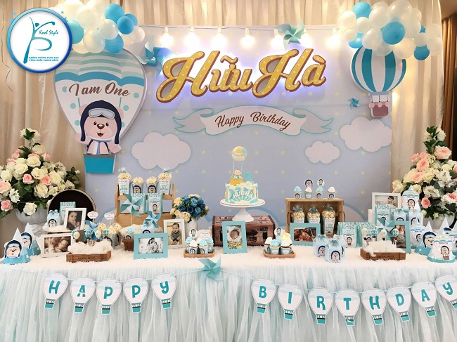 Dịch vụ trang trí sinh nhật Kool style