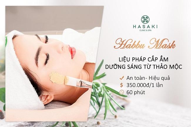 Hasaki Clinic & Spa trị mụn quận phú nhuận