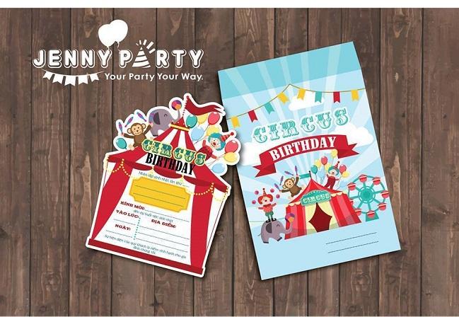 Jenny Party store - địa điểm bán thiệp sinh nhật