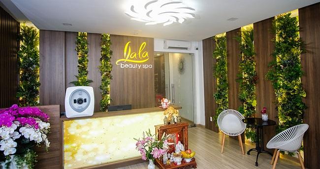LaLa Beauty Spa trị mụn quận Tân phú