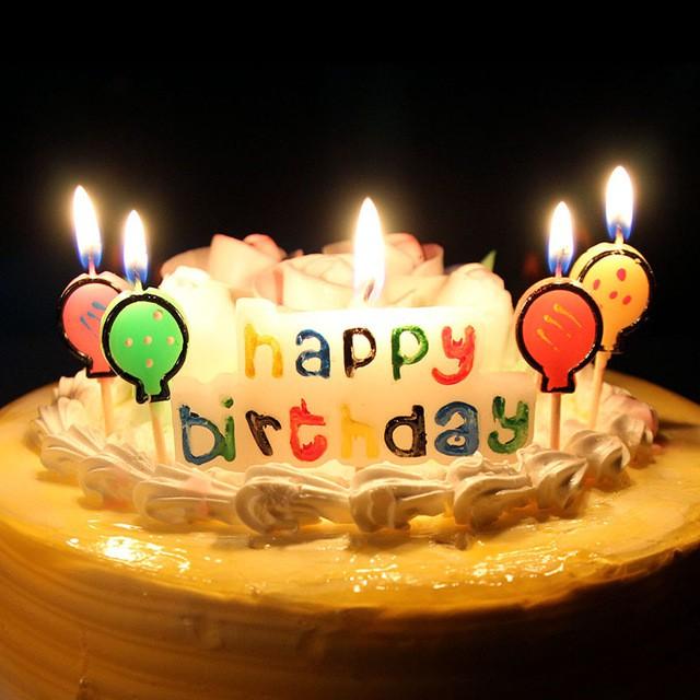Nến sinh nhật Hải Đăng