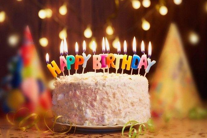 Nến sinh nhật Bảo An