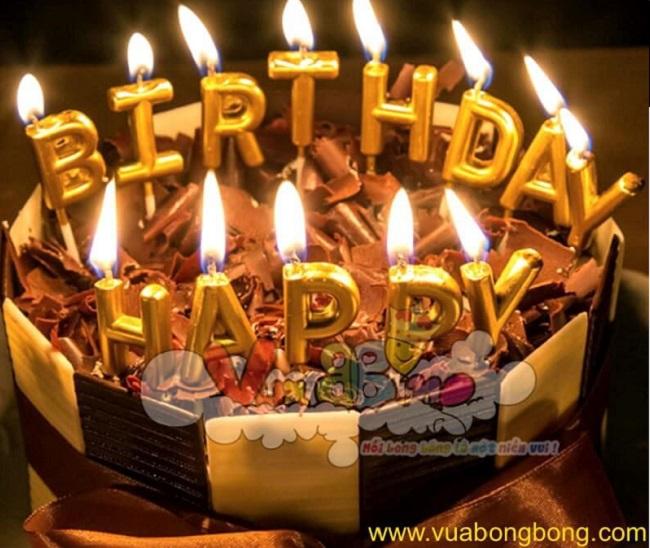 Nến sinh nhật - Vua bong bóng shop