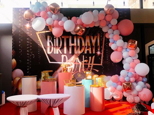 Shop bán đồ trang trí sinh nhật Glow Party