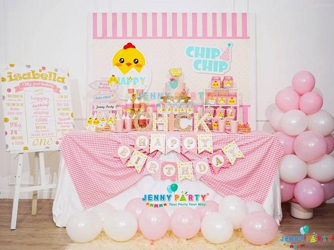 Shop bán đồ trang trí sinh nhật Jenny Party
