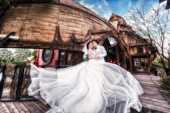 Studio chụp ảnh cưới đẹp Kim Tuyến Bridal