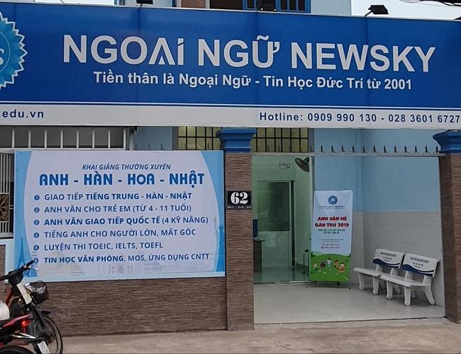 Trung tâm luyện TOEIC NEWSKY