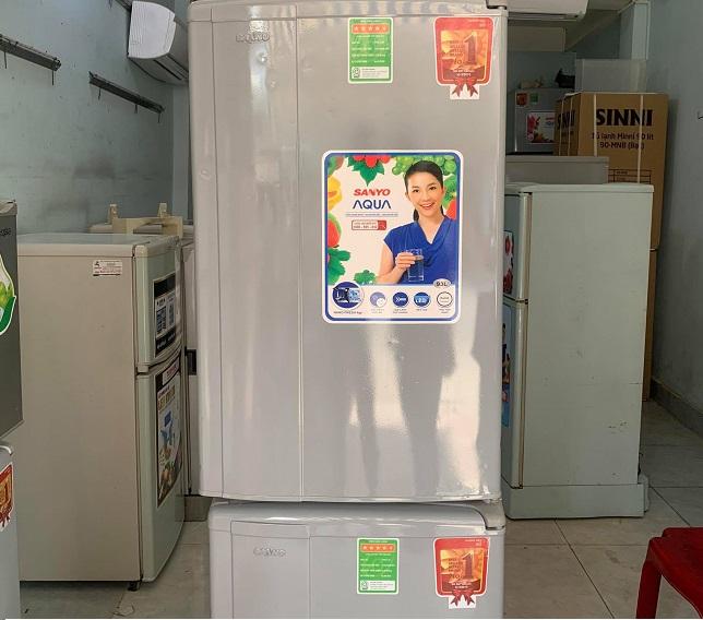 Tủ lạnh cũ Lộc Phát