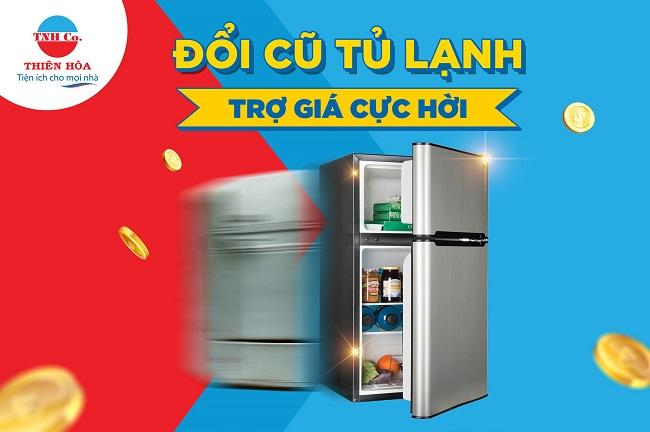 Tủ lạnh cũ Thiên Hòa