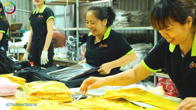 Xưởng may áo thun ATLAN