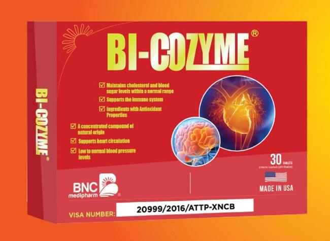 Thuốc chống đột quỵ của Mỹ - Bi-Cozyme