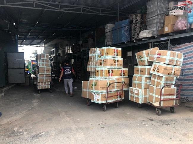 Dịch vụ bốc xếp hàng hóa Thành Phát