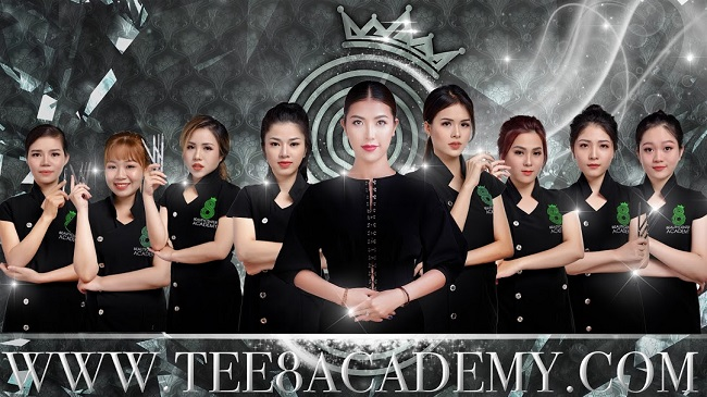 Trường dạy học phun xăm, phun thêu học viện thẩm mỹ Tee 8