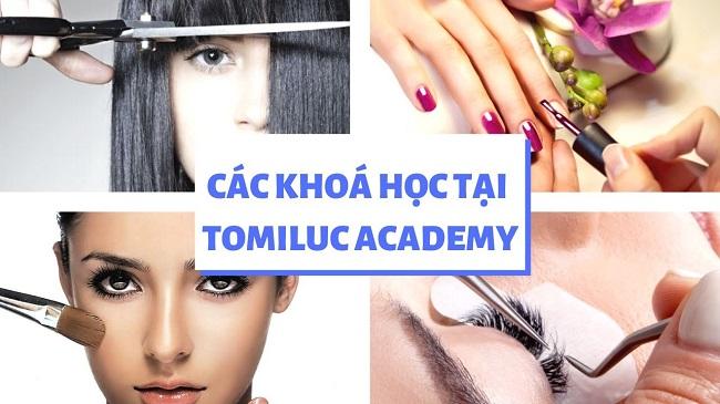 Khóa học phun xăm thẩm mỹ tại trường đào tạo thẩm mỹ Tomiluc