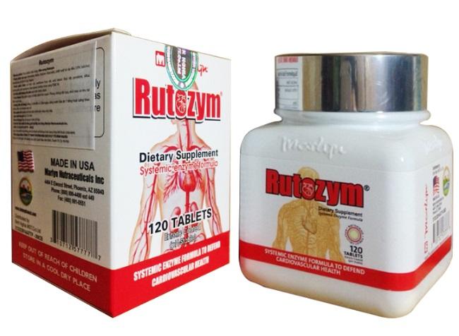 Thuốc chống đột quỵ của Mỹ - Rutozym