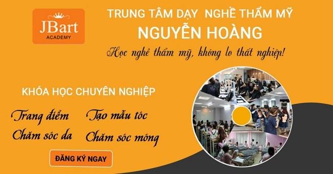 Trung tâm dạy học chăm sóc da Nguyễn Hoàng