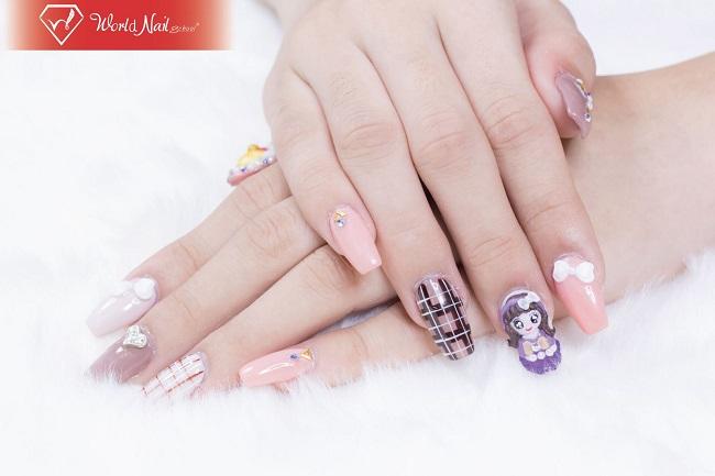 Trung tâm dạy học nail World Nail School