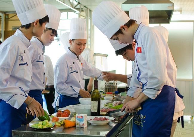 Trung tâm học nấu ăn tại TPHCM