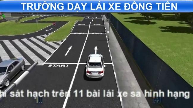 Trường dạy lái xe Đồng Tiến