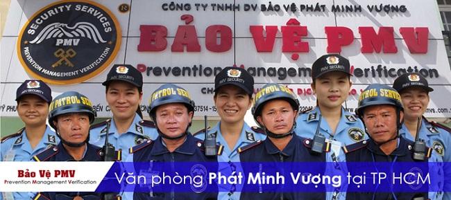 Công ty TNHH DV Bảo vệ Phát Minh Vượng