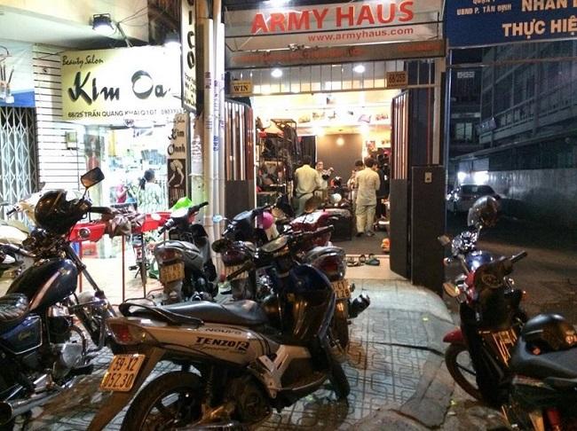 Cửa hàng Armyhaus