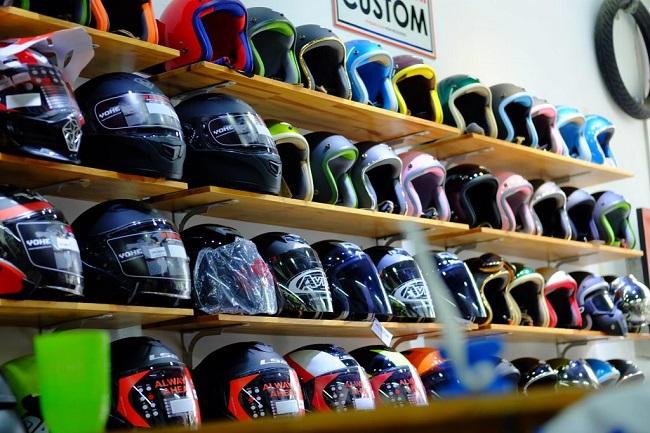 Cửa hàng bán mũ bảo hiểm chính hãng
