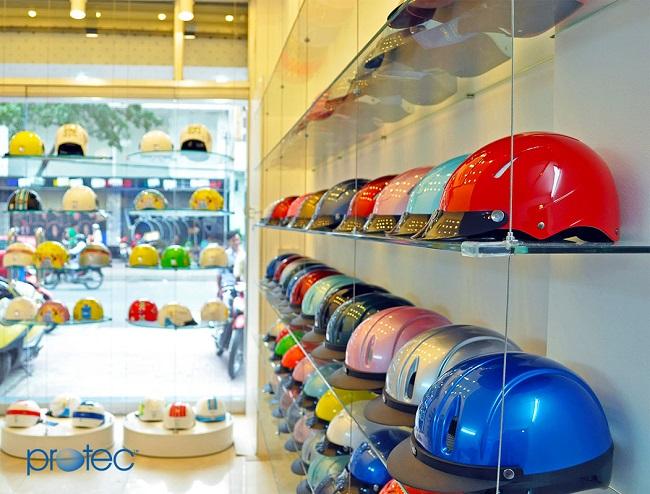 Cửa hàng bán mũ bảo hiểm Protect