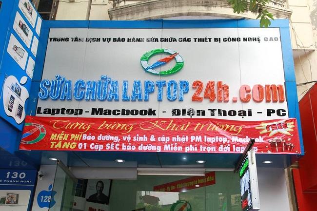 Sửa chữa laptop 24h.com