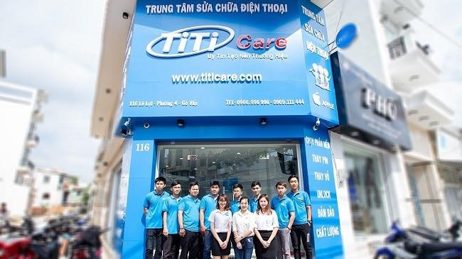 Trung tâm sửa chữa điện thoại Titi Care