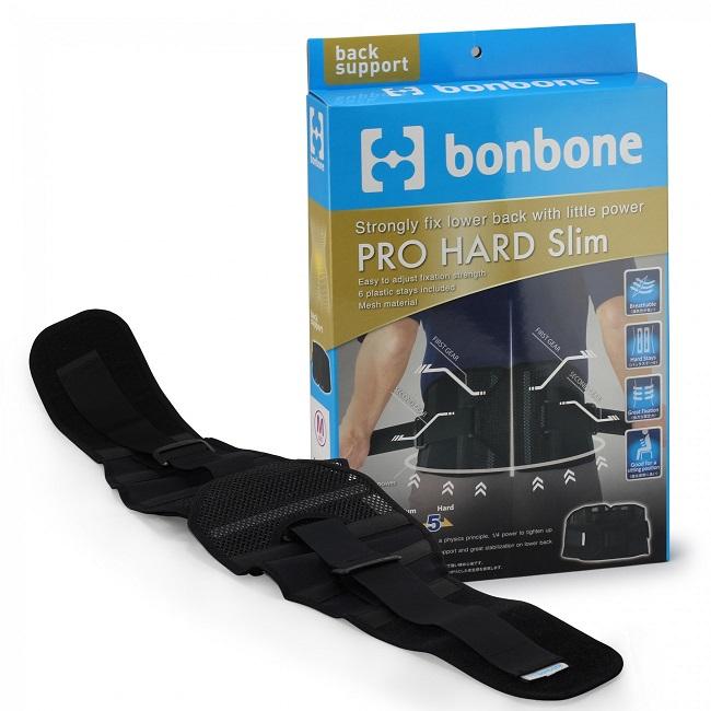 Đai lưng cột sống Nhật Bản Pro Hard Slim Bonbone