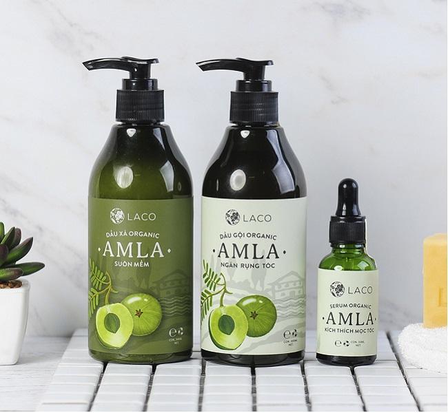 Dầu gội Organic Amla