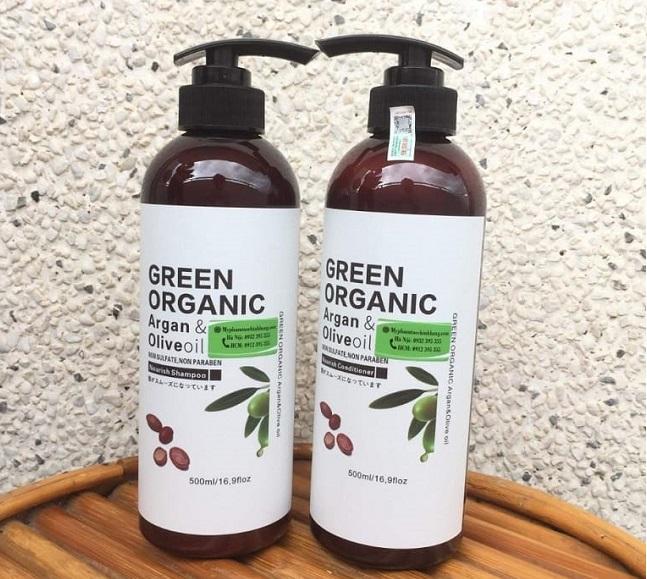 Dầu gội thảo dược của Nhật - Green Organic