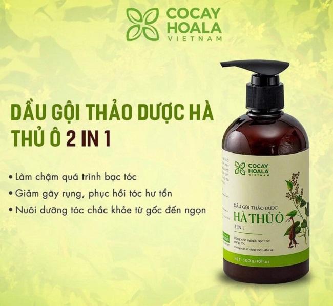 Dầu Hà Thủ Ô - COCAYHOALA