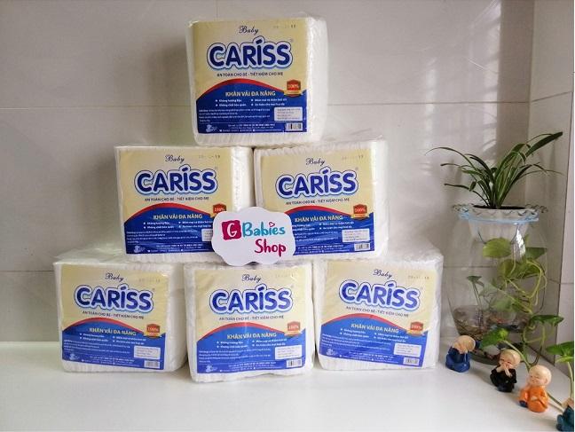 Khăn khô đa năng baby Cariss