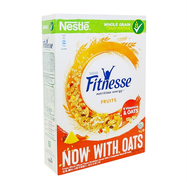 Ngũ cốc ăn sáng Nestlé FITNESSE and Fruit
