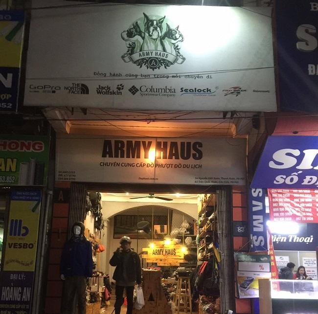 Đồ phượt Armyhaus