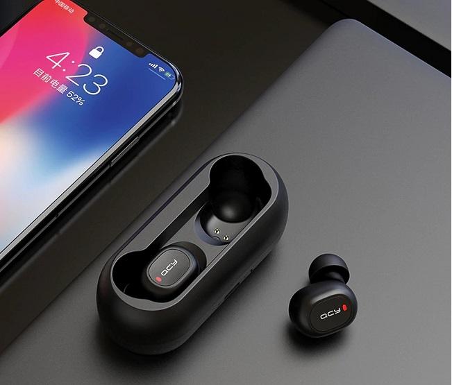 Tai Nghe Bluetooth Không Dây Giá Rẻ QCY-T1