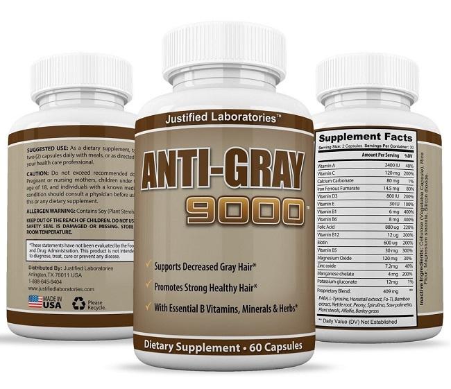 Thuốc chống bạc tóc Anti Gray
